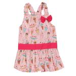 View Image 2 of Sundae Dog Sundress by Zack & Zoey - Pink