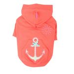 View Image 1 of Sunny Day Dog Hoodie by Pinkaholic - Orange