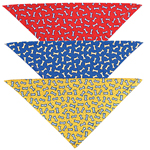 View Image 4 of Super Fun Dog Bandanas