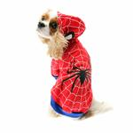 View Image 1 of Superhero Dog Costume - Red Spider Dog