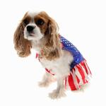 View Image 1 of Superhero Dog Costume - Wonder Dog Dress