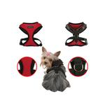 View Image 2 of Superior Soft Harness by Puppia - Red