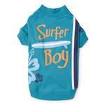 View Image 1 of Surf's Up Dog T-Shirt - Surfer Boy