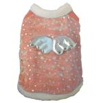 View Image 1 of Sweet Angel Dog Coat - Pink