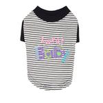 View Image 1 of Sweet Baby Dog Shirt by Pinkaholic - Navy