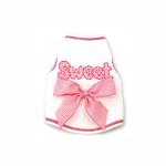 View Image 1 of Sweet Bow Dog Tank Top