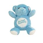 View Image 1 of Sweet Dreams Snoring Bear Toy - Blue