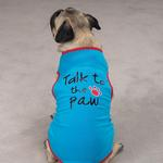 View Image 1 of Talk to the Paw Dog Tank Top