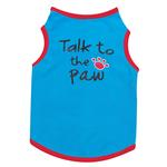 View Image 3 of Talk to the Paw Dog Tank Top