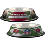 View Image 1 of Tampa Bay Buccaneers Dog Bowl