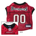 View Image 1 of Tampa Bay Buccaneers Officially Licensed Dog Jersey