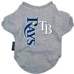 View Image 1 of Tampa Bay Rays Dog T-Shirt