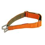 View Image 1 of Tazlab Safe-T Stretch Adjustable Dog Collar - Blaze Orange