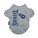 View Image 1 of Tennessee Titans Dog T-Shirt