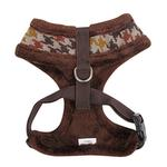 View Image 3 of Tessell Dog Harness by Puppia - Brown