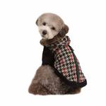 View Image 1 of Tessell Hooded Dog Jacket by Puppia - Black