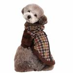 View Image 3 of Tessell  Dog Jacket by Puppia - Brown