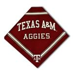 View Image 1 of Texas A&M Dog Bandana - Crimson