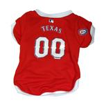 View Image 1 of Texas Rangers Baseball Dog Jersey