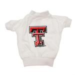 View Image 1 of Texas Tech Dog T-Shirt - White