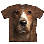 View Image 1 of The Mountain Human T-Shirt - American Cocker Spaniel Face