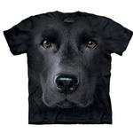 View Image 1 of The Mountain Human T-Shirt - Black Lab Face