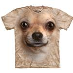 The Mountain Human T-Shirt - Chihuahua Face