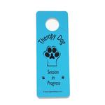 View Image 1 of Therapy Dog Session Door Hanger - Blue