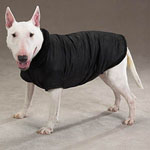 View Image 1 of Thermal Lined Dog Jacket - Black