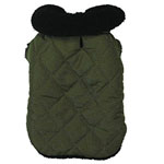 View Image 2 of Thermal Lined Dog Jacket - Chive
