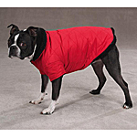 View Image 1 of Thermal Lined Dog Jacket - Red