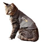 View Image 1 of Thundershirt for Cats - Gray