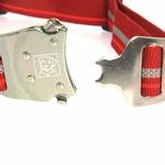 View Image 3 of Top Rope Dog Collar by RuffWear - Red Rock