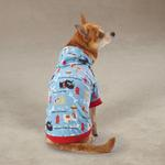 View Image 2 of Tough Dog Pullover Dog Hoodie - Blue
