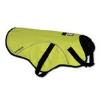 View Image 2 of Track Safety Dog Jacket by RuffWear - Fern Green