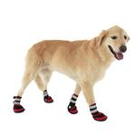 View Image 3 of Trail Trackers Dog Boots by Doggles - Red and Black