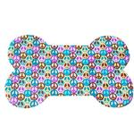 View Image 1 of Transparent Peace Sign Dog Bowl Placemat