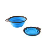 View Image 2 of Travel Cups with Carabiner by Popware - Blue