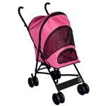 View Image 1 of Travel Lite Pet Stroller - Pink