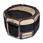 View Image 1 of Travel Lite Soft-Sided Pet Pen - Sahara