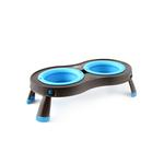 View Image 3 of Traveling Pet Feeder by Popware - Blue
