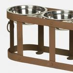 View Image 2 of Tripoli Raised Dog Feeder