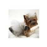 View Image 2 of Tulle and Organza Dog Wedding Dress