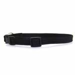 View Image 1 of Twice as Nice Kitty Break-Away Cat Collar - Black