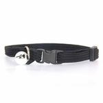 View Image 2 of Twice as Nice Kitty Break-Away Cat Collar - Black