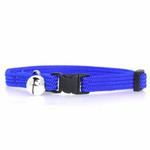 View Image 2 of Twice as Nice Kitty Break-Away Cat Collar - Blue