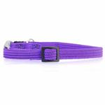 View Image 1 of Twice as Nice Kitty Break-Away Cat Collar - Purple
