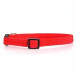 View Image 1 of Twice as Nice Kitty Break-Away Cat Collar - Red