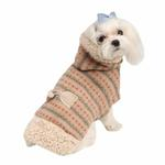 View Image 1 of Twilight Hooded Dog Cape by Pinkaholic - Beige