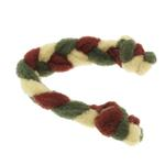 View Image 1 of Twist Braided Dog Tug Toy - Wine